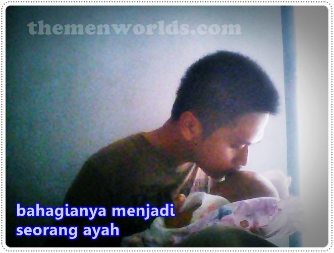 bahagia menjadi seorang ayah
