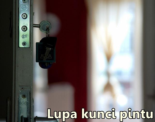lupa kunci rumah