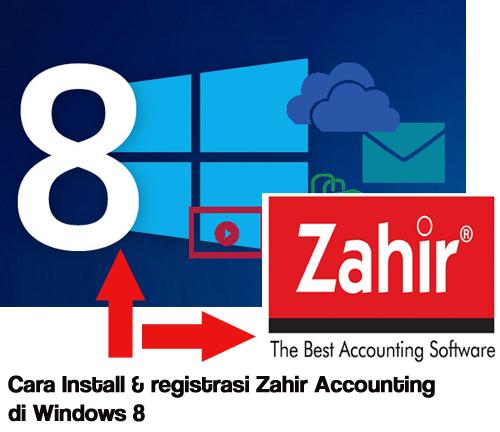 install zahir accounting di windows 8